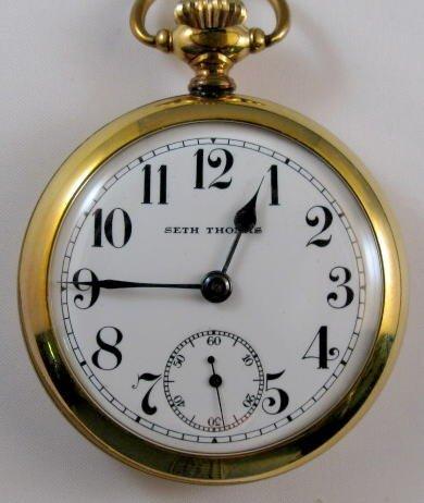 6: Seth Thomas 17J 18S Pocket Watch
