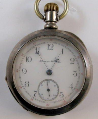 9: Hampden Railway 17J 18S Pocket Watch