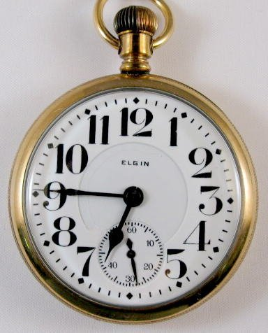 13: Elgin BW Raymond 19J 16S Pocket Watch