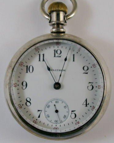 14: American Waltham 17J 18S Pocket Watch