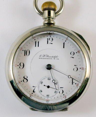 16: Illinois EF Randolph 15J 18S Pocket Watch