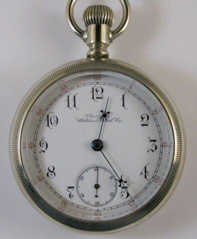 21: American Waltham 17J 18S Pocket Watch