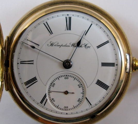 24: Hampden 15J 18S Pocket Watch