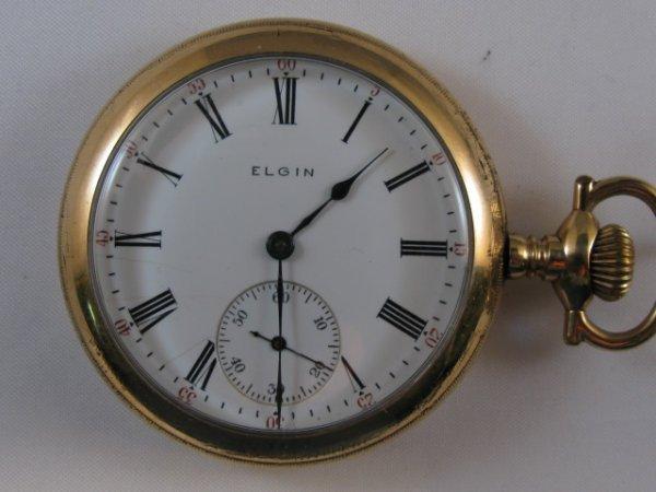 32: Elgin 15J 16S B&B Royal 20yr Case Pocket Watch