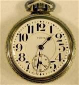 147: Elgin B.W. Raymond 17J 16S Pocket Watch