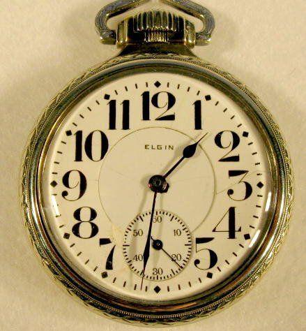 Elgin B.W. Raymond 17J 16S Pocket Watch