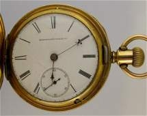 206 Elgin National 18S Hunting Case Pocket Watch