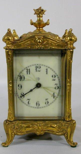 9: Waterbury Clock w/Strike Repeat