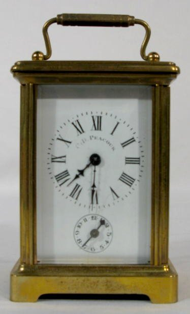 10: French Carriage Clock w/Bell Alarm