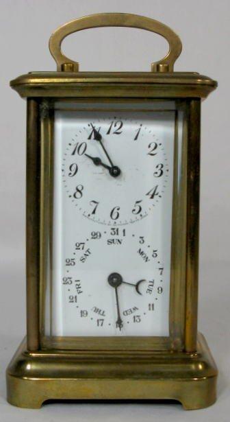 11: Seikosha Carriage w/Calendar Clock
