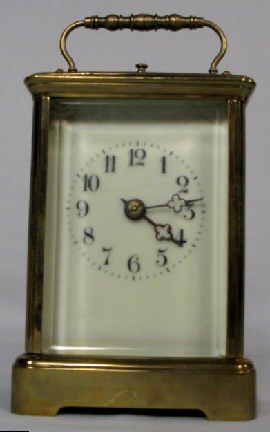 12: Waterbury Carriage Clock w/Gong