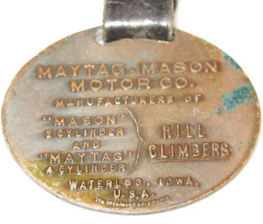 130: Group of 3 Maytag Collectible Badges & Fob - 4