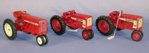 236: Group of 3 Old International Toy Tractors - 5