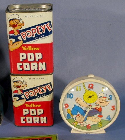 354: 16 Vintage Popeye Collectibles, 1920's-1960 - 2