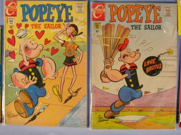 354: 16 Vintage Popeye Collectibles, 1920's-1960 - 4