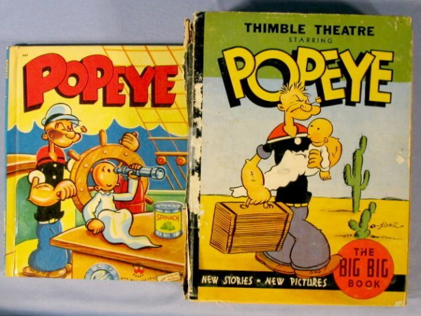 354: 16 Vintage Popeye Collectibles, 1920's-1960 - 5