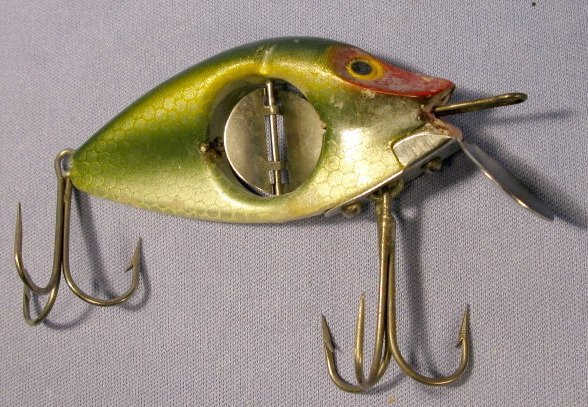 360: 6 Vintage Lures: Shakespeare, Paw-Paw & Heddon - 2