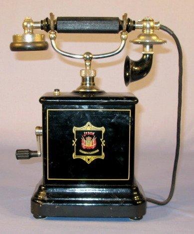 1: JYDSK Telefon AKTIESEISKAB 1961 Table Phone
