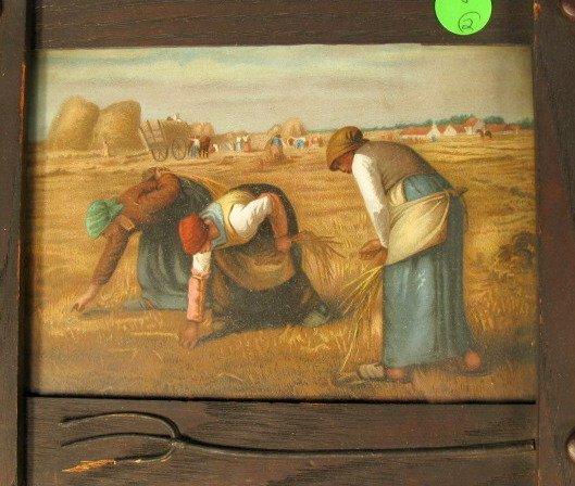 8: Framed Prints: Gleaners & Angelus - 2