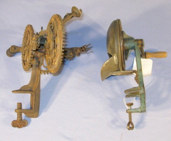 9: Sinclair Scott Co Apple Peeler & A Bean Slicer