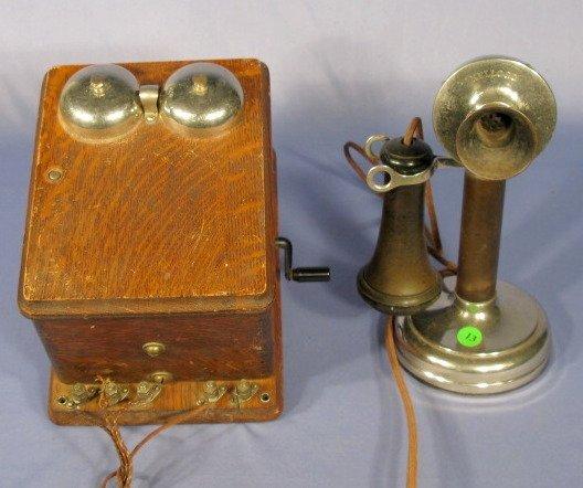 13: Kellogg Candlestick Telephone