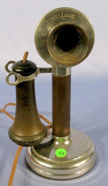13: Kellogg Candlestick Telephone - 4