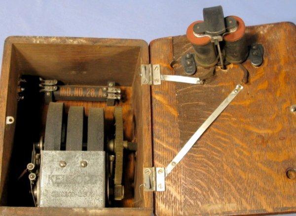 13: Kellogg Candlestick Telephone - 5