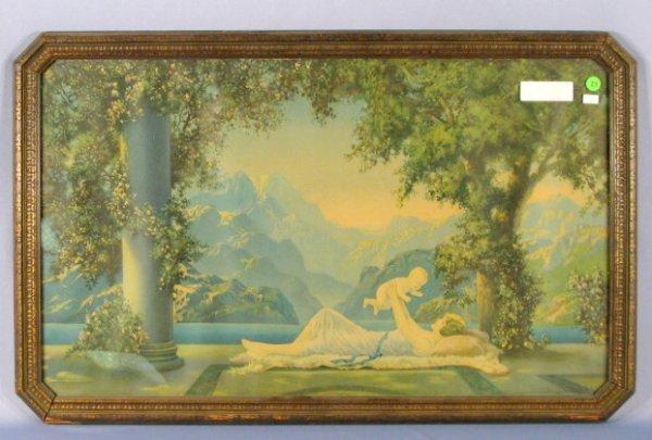 "23: 1925 Borin ""Love;s Paradise"" Framed Print"