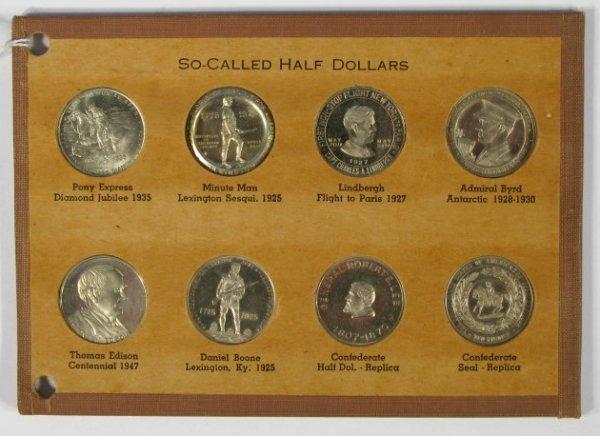 10: Coins - 8 So Called Half Dollars