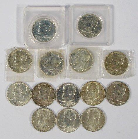 18: Coins - 14 - 1964 Kennedy Half Dollars