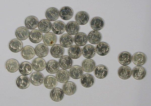 20: Coins - 40 - 1959P Washington Quarters