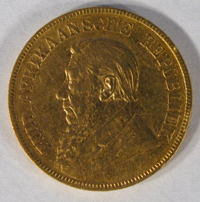 32: Coin - South African Gold Coin