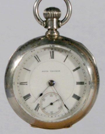 2: Seth Thomas 18S Open Face Coin Pocket Watch