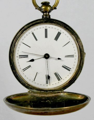 6: L. Bretling, Geneva 18S Hunting Case Pocket Watch
