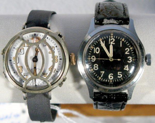 9: Roberts 15J & Elgin Military 15J Wrist Watches