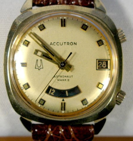 10: Bulova Accutron Astronaut Mark II Wrist Watch