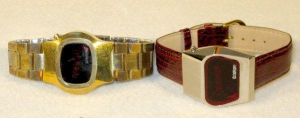 12: 2 Armitron Digital Wrist Watches