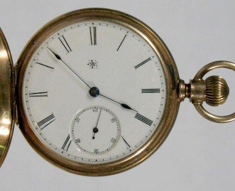 18: Elgin Nat'l Dexter St. 105 11J KW/KW Pocket Watch