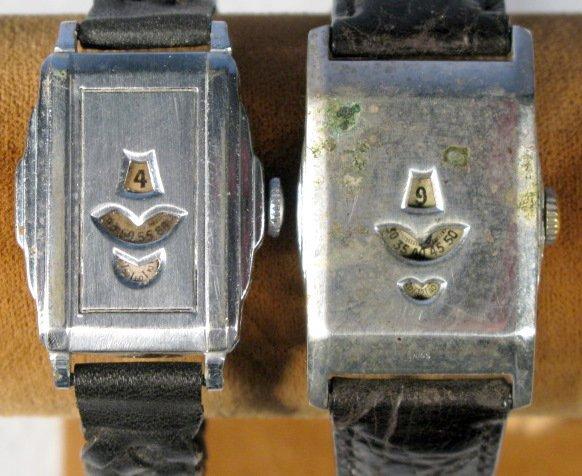 19: 2 Acme 15J, Swiss Wrist Watches