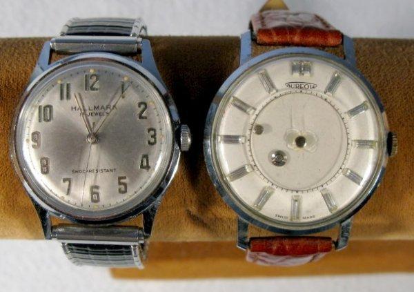 22: Aureole Swiss Made & Hallmark Wrist Watches