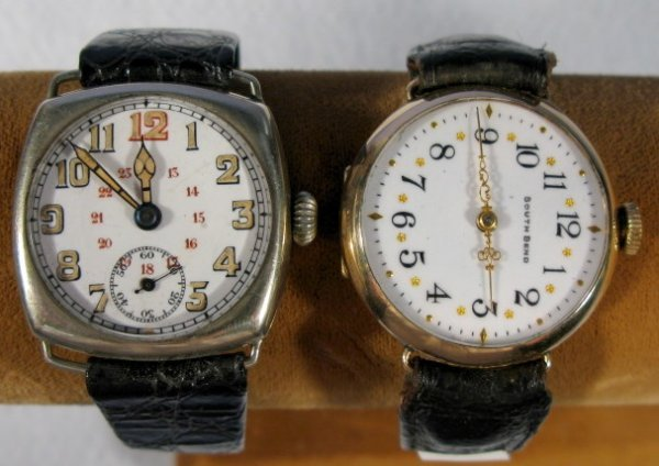 23: Southbend Model 100 & Unmarked Wrist Watches
