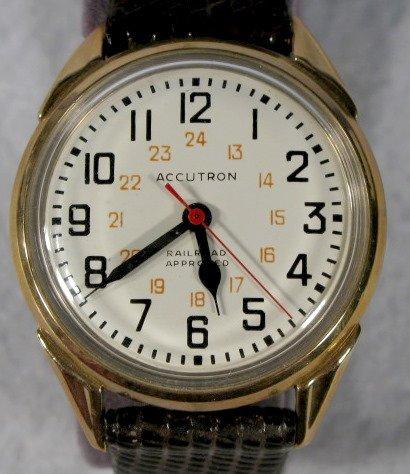 228: Bulova Accutron 214 Railroad Approved Wrist Watch