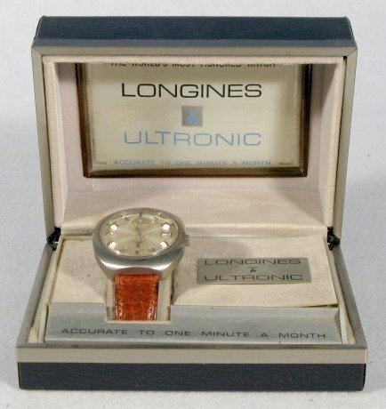 243: Longines Ultronic Wrist Watch in Box