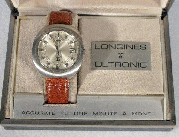 243: Longines Ultronic Wrist Watch in Box - 4