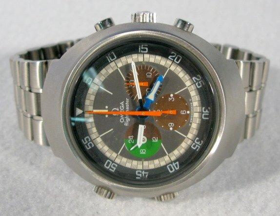 301: Omega Flightmaster 17J Chronograph Wrist Watch