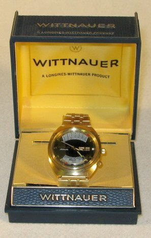 343: Wittnauer Automatic 17J Wrist Watch in Box