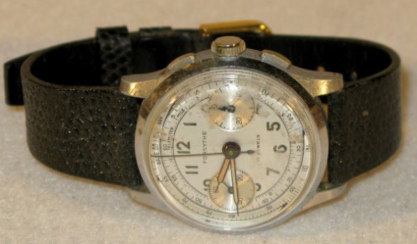 419: Hugex & Forsythe Chronograph Wrist Watches - 2
