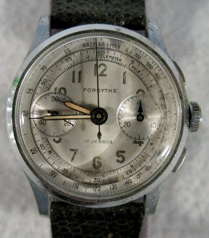 419: Hugex & Forsythe Chronograph Wrist Watches - 3