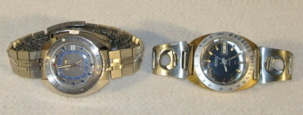 420: 2 Benrus Citation Wrist Watches