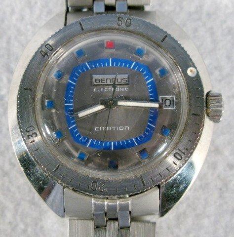 420: 2 Benrus Citation Wrist Watches - 3